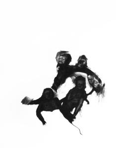 Vanité 2_2011 Fusain sur papier BFK Rive 91cm x 137cm