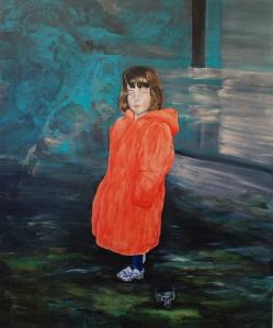 Innocence_2010 Acrylique sur toile 152,5cm x 183cm