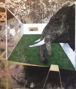 Picasso_2009 Acrylique sur toile 152,5 cm X 183 cm