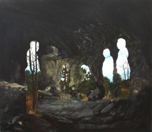 les mineurs_2014_acrylique sur bois_107cmX122cm