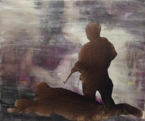 Soldat_2014 Acryliques sur toile 61 cm X 81 cm