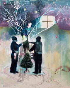 Les illuminés_2017_Acrylique sur toile_61 cm X 76 cm Disponible