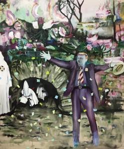 Y'a de la joie! 1_2017_Acrylique sur toile_152,5 cm X 183 cm Disponible