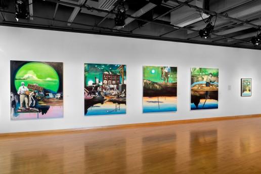 Vue de l'exposition mémoire sélective
